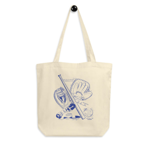 Baseball MS-Lineart Tote Bag FRONT