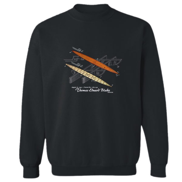Blake Paddle Board Crewneck Sweatshirt BLACK