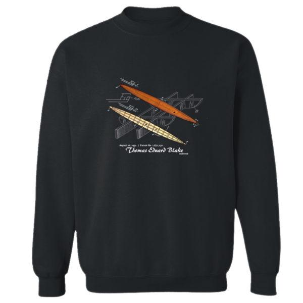 Blake Paddle Board Crewneck Sweatshirt BLACK