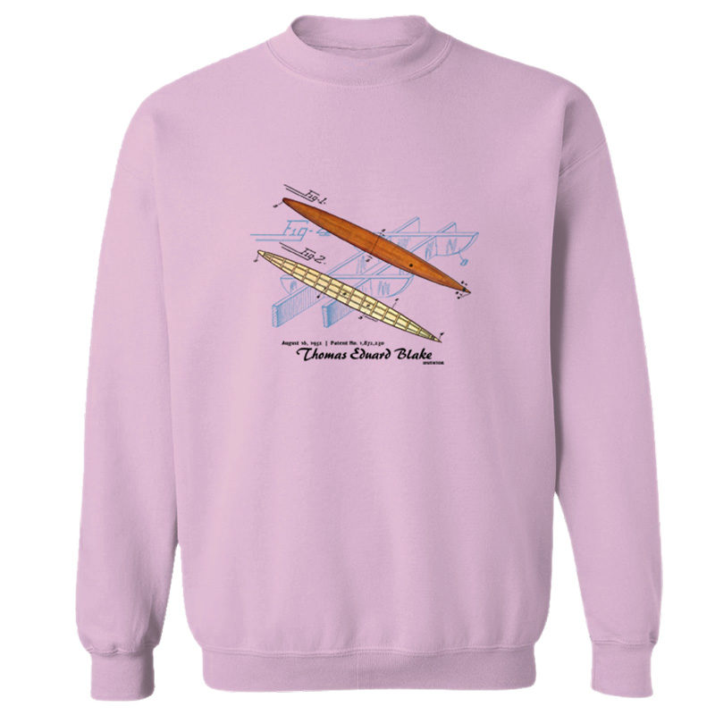 Blake Paddle Board Crewneck Sweatshirt LIGHT PINK