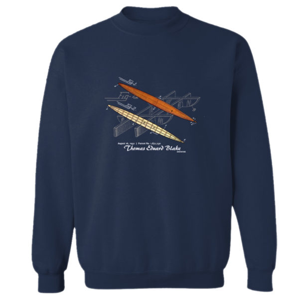 Blake Paddle Board Crewneck Sweatshirt NAVY