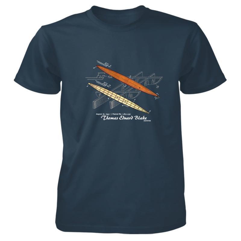 Blake Paddle Board T-Shirt BLUE DUSK