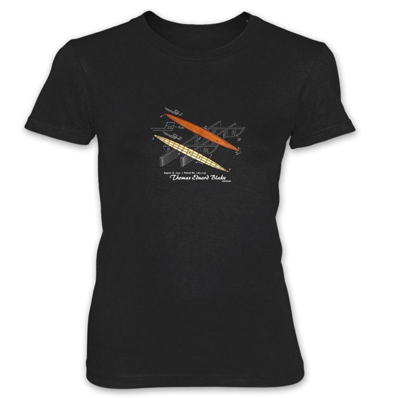 Blake Paddle Board Women's T-Shirt BLACK