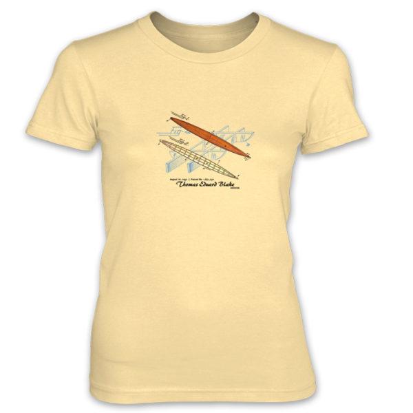 Blake Paddle Board Women's T-Shirt SPRING YELLOW