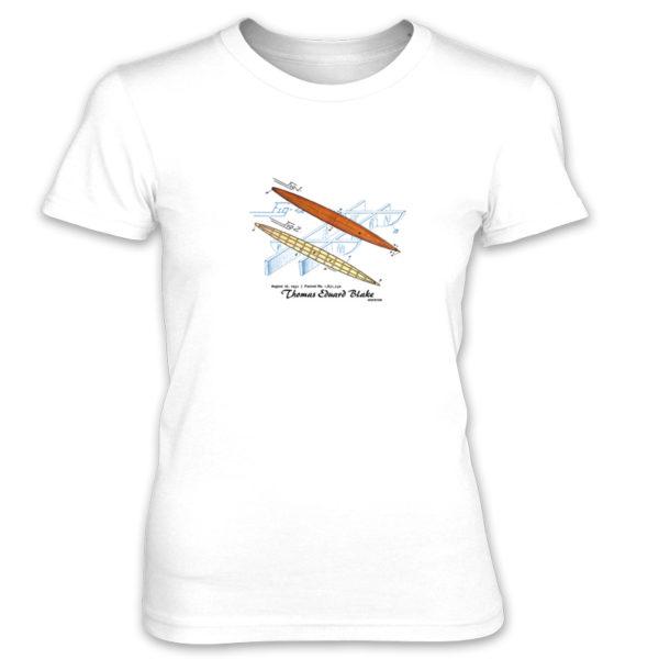 Blake Paddle Board Women's T-Shirt WHITE