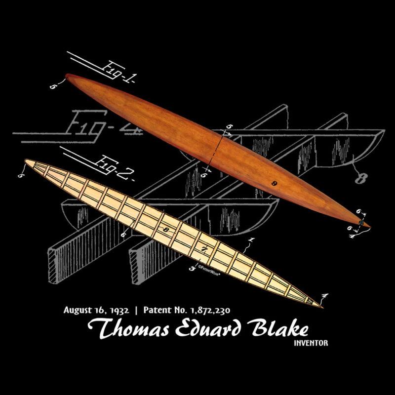 Blake Paddle Board Design on Darks