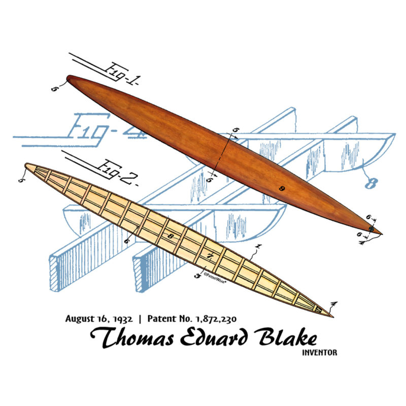 Blake Paddle Board Design