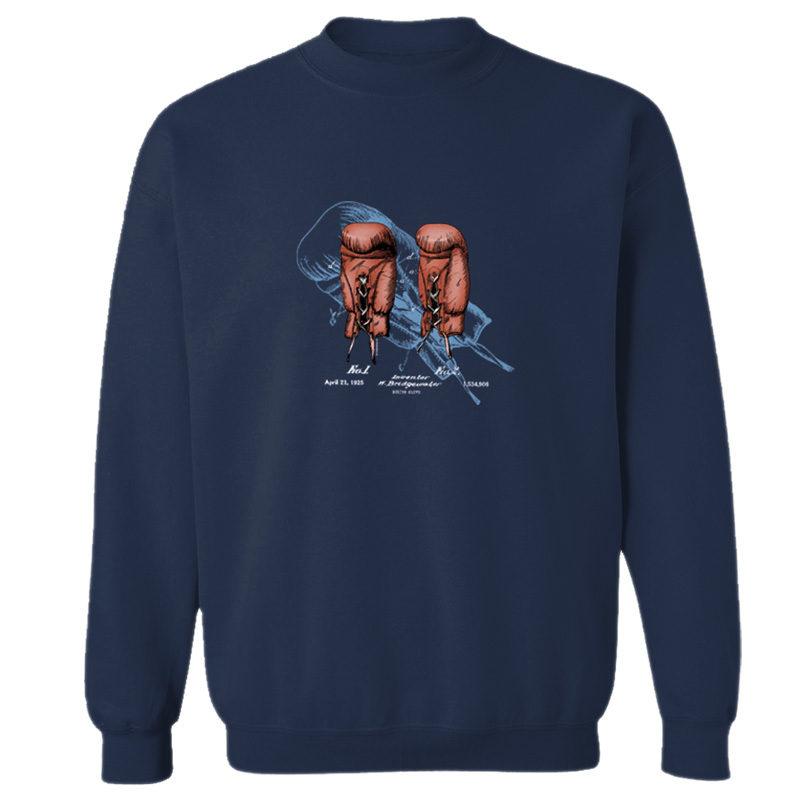 Boxing Glove Crewneck Sweatshirt NAVY