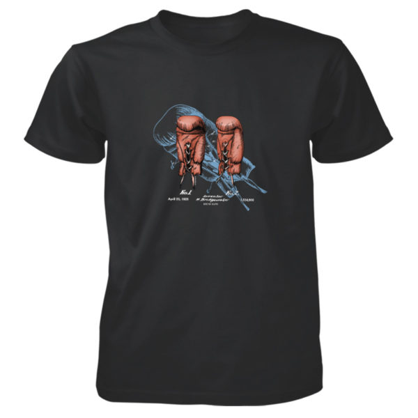 Boxing Glove T-Shirt BLACK