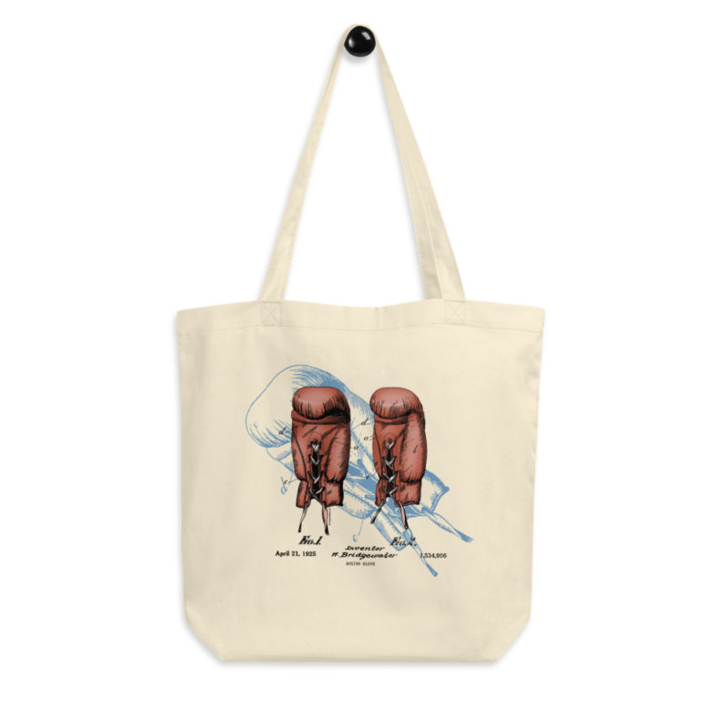 Boxing Glove Tote Bag FRONT