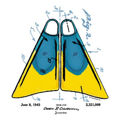 Churchill Fins Design