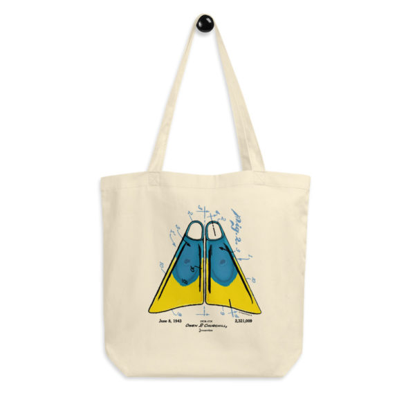 Churchill Fins Tote Bag FRONT