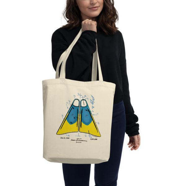 Churchill Fins Tote Bag