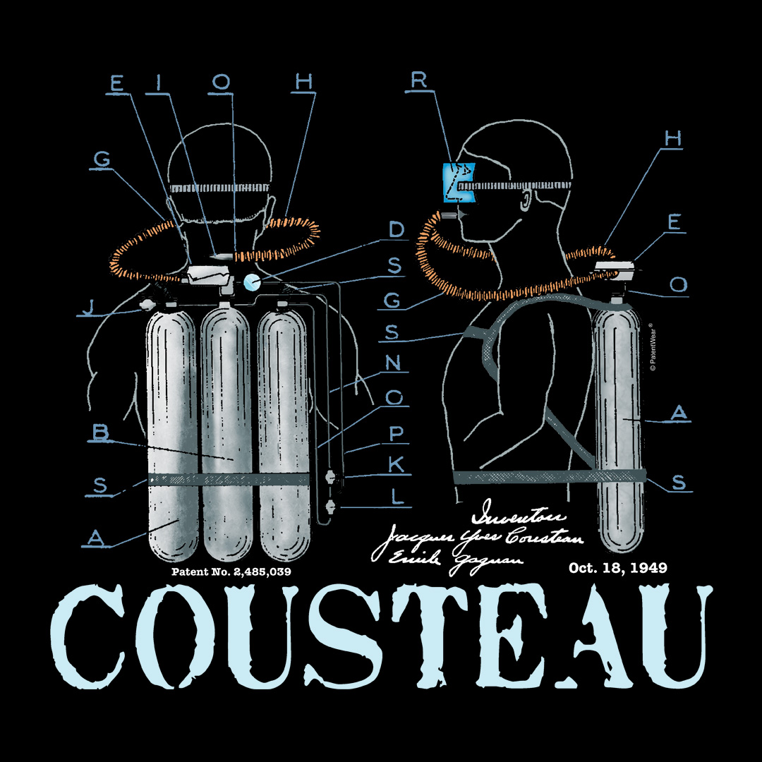 Cousteau Aqualung