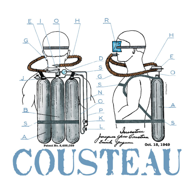 Cousteau Aqualung Design