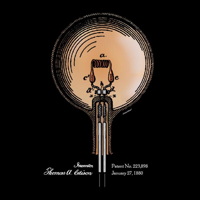 Edison Bulb Design on Darks