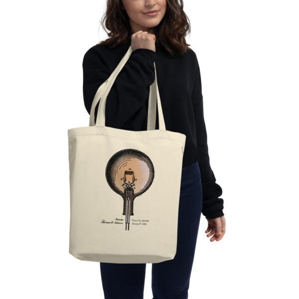 Edison Bulb Tote Bag