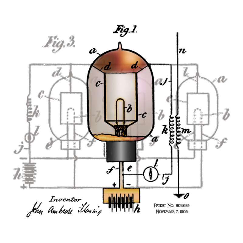Fleming Vacuum Tube Design