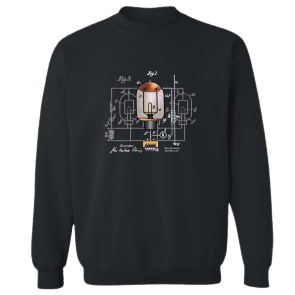 Fleming Vacuum Tube Crewneck Sweatshirt BLACK