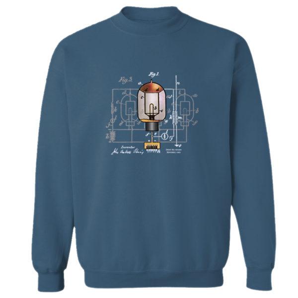 Fleming Vacuum Tube Crewneck Sweatshirt INDIGO BLUE