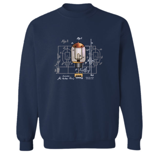 Fleming Vacuum Tube Crewneck Sweatshirt NAVY