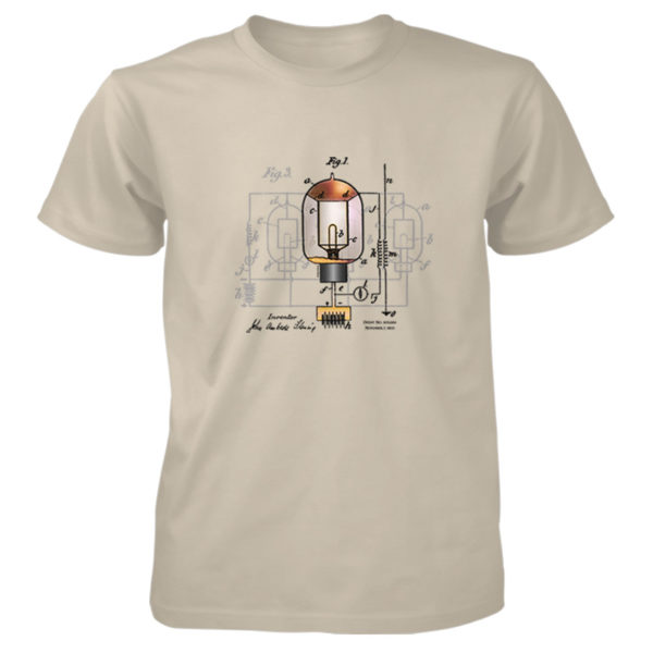 Fleming Vacuum Tube T-Shirt SAND