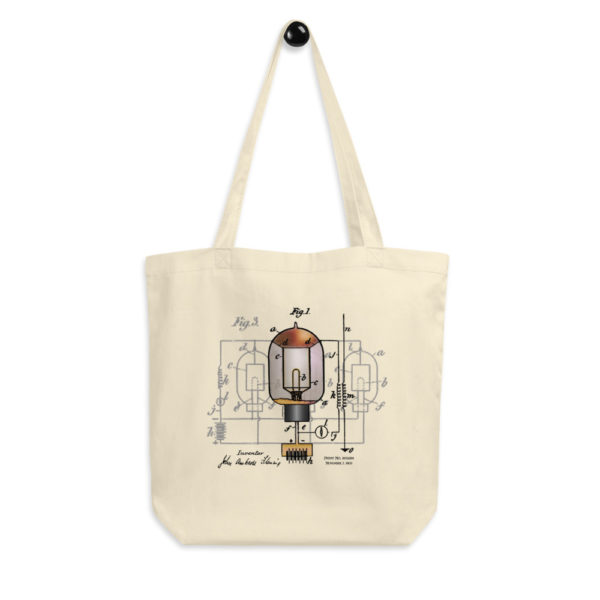 Fleming Vacuum Tube Tote Bag FRONT