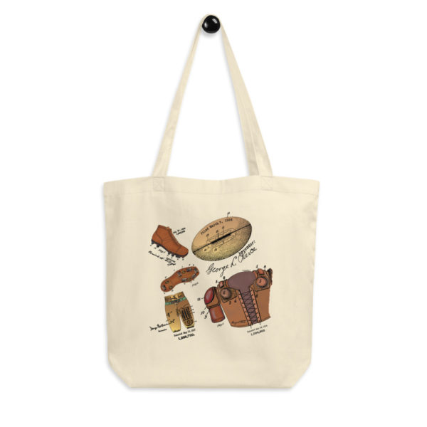 Football MS-Color Tote Bag FRONT