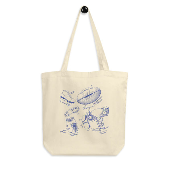 Football MS-Lineart Tote Bag FRONT