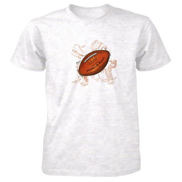 Football Solo T-Shirt ASH