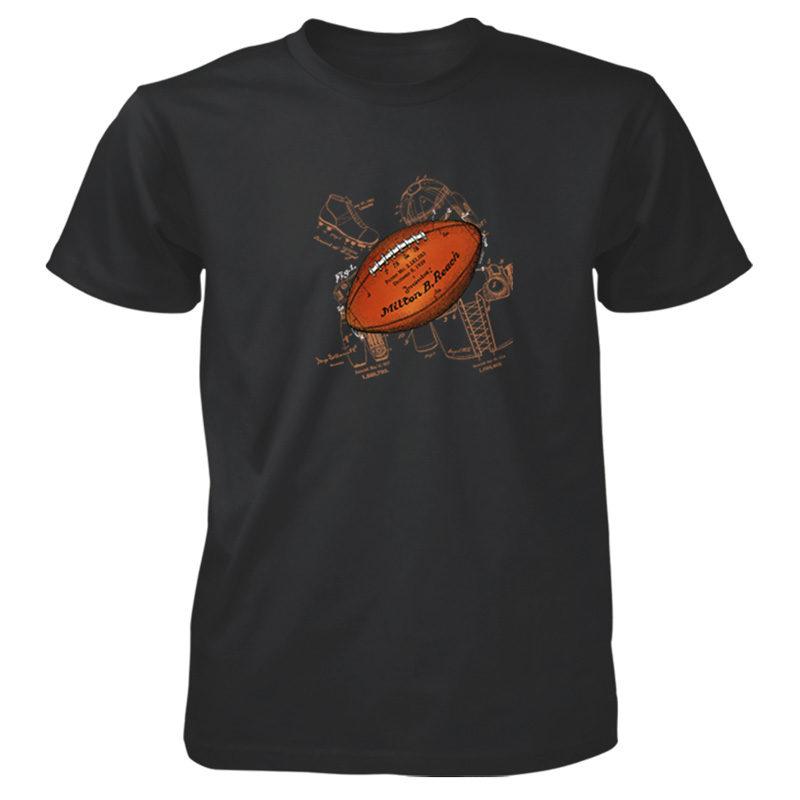 Football Solo T-Shirt BLACK