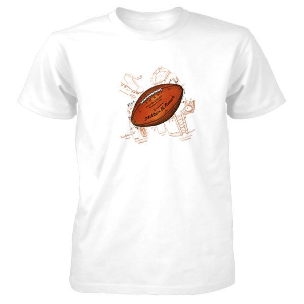 Football Solo T-Shirt WHITE