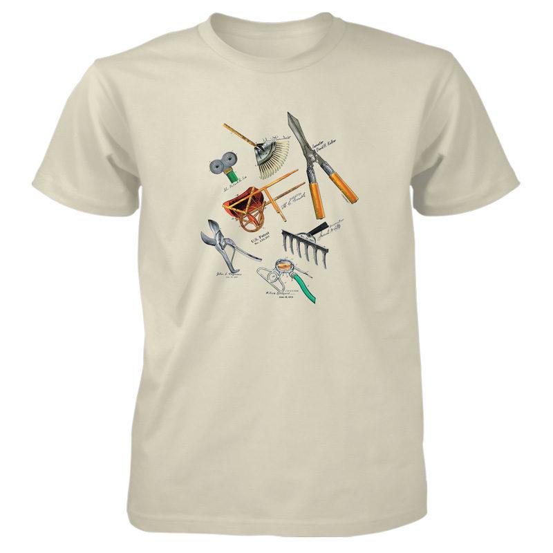 Garden Tools MS-Color T-Shirt NATURAL