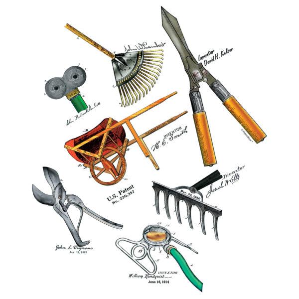 Garden Tools MS-Color Design