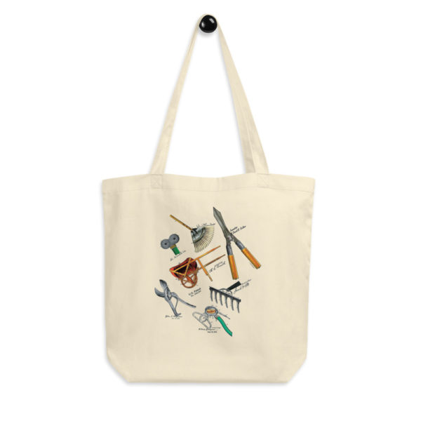 Garden Tools MS-Color Tote Bag FRONT