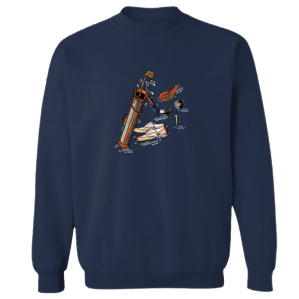 Golf MS-Color Crewneck Sweatshirt NAVY