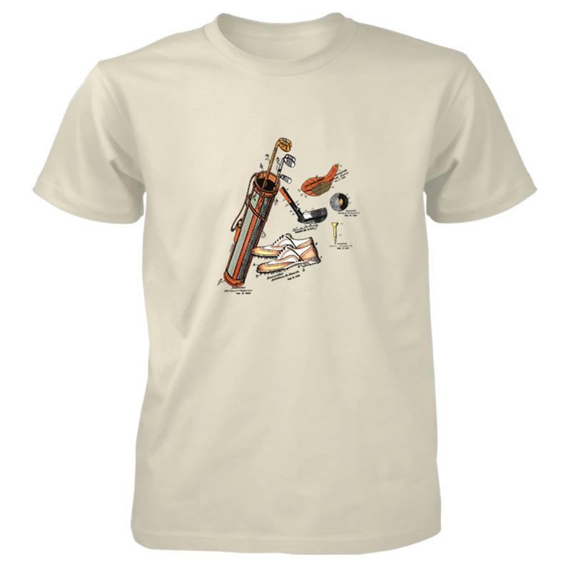 Golf MS-Color T-Shirt NATURAL