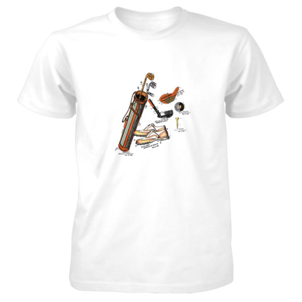 Golf MS-Color T-Shirt WHITE