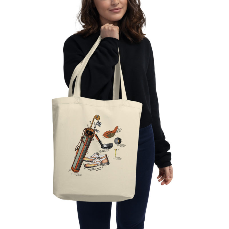 Golf MS-Color Tote Bag