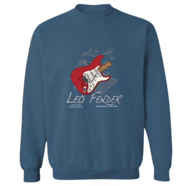 Guitar Solo Crewneck Sweatshirt INDIGO BLUE