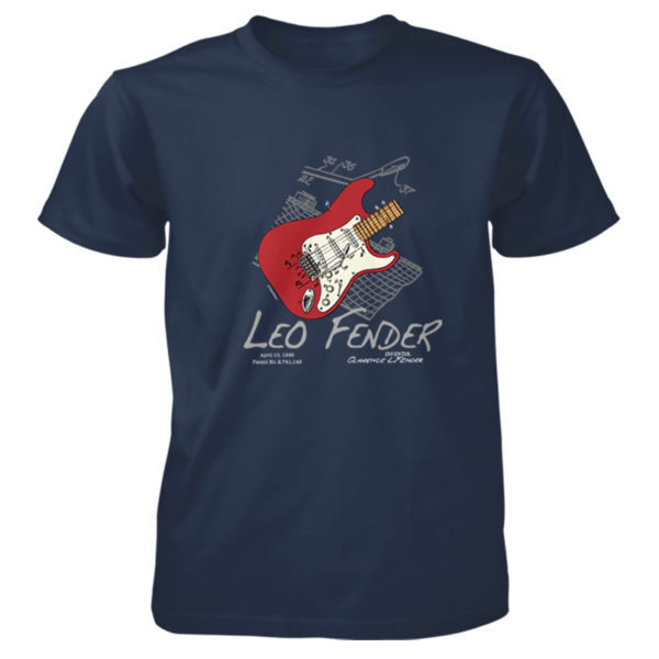 Guitar Solo T-Shirt NAVY
