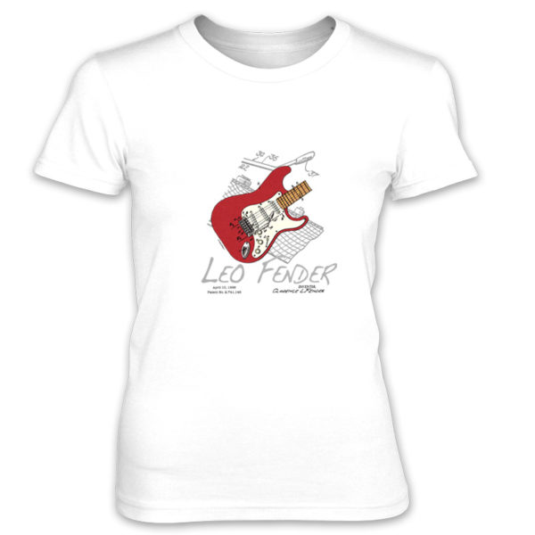Guitar Solo Women's T-Shirt WHITE