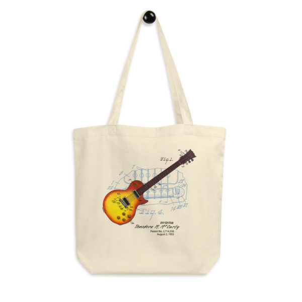 Sunburst Guitar Tote Bag FRONT