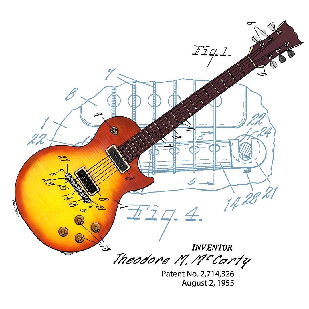 Sunburst Guitar Design