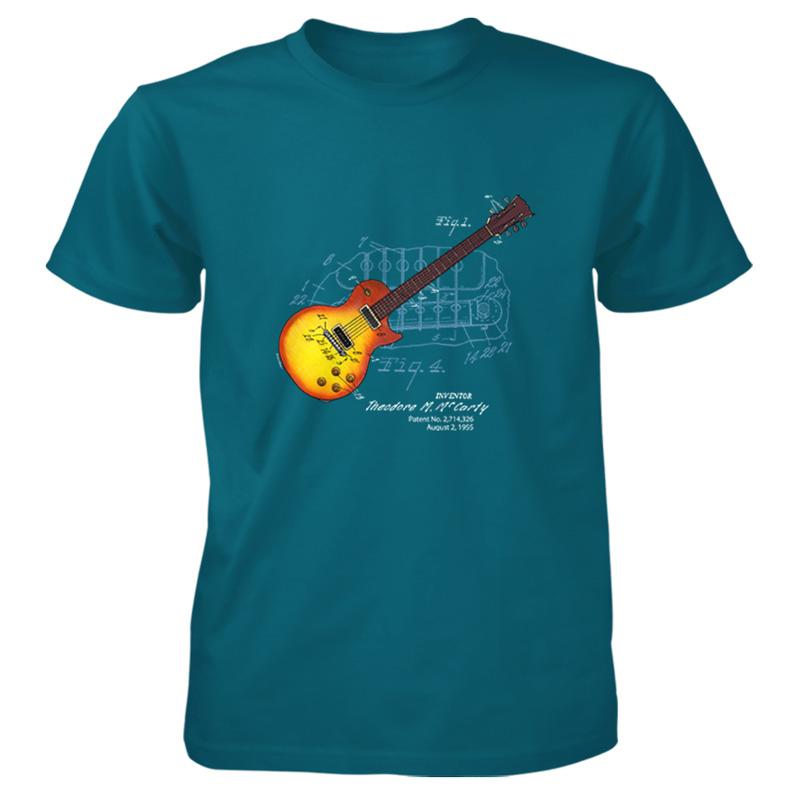 sunburst guitar patent t shirt patentwear. Black Bedroom Furniture Sets. Home Design Ideas