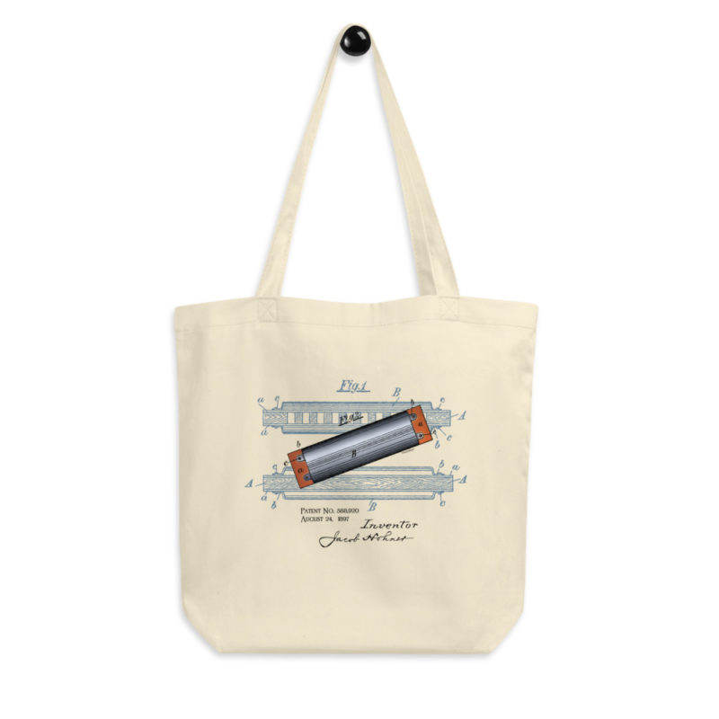 Harmonica Tote Bag FRONT