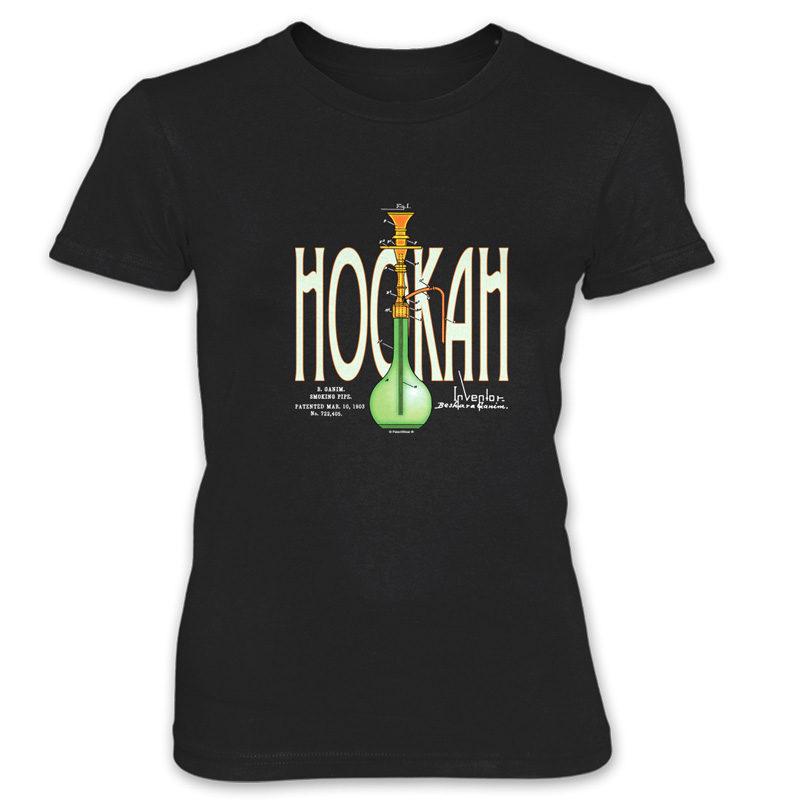 Hookah Women's T-Shirt BLACK