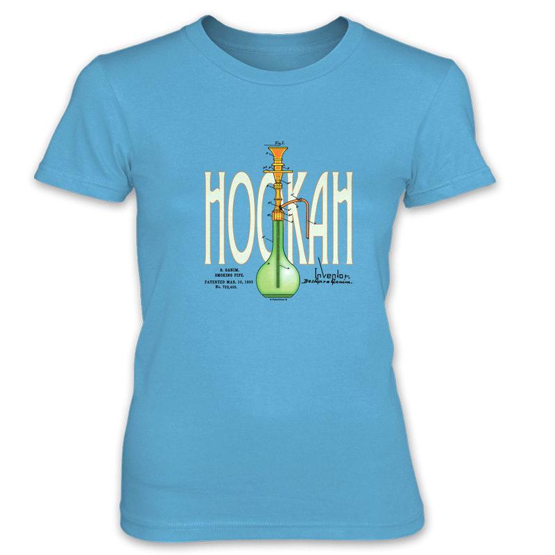 Hookah Women's T-Shirt CARIBBEAN BLUE