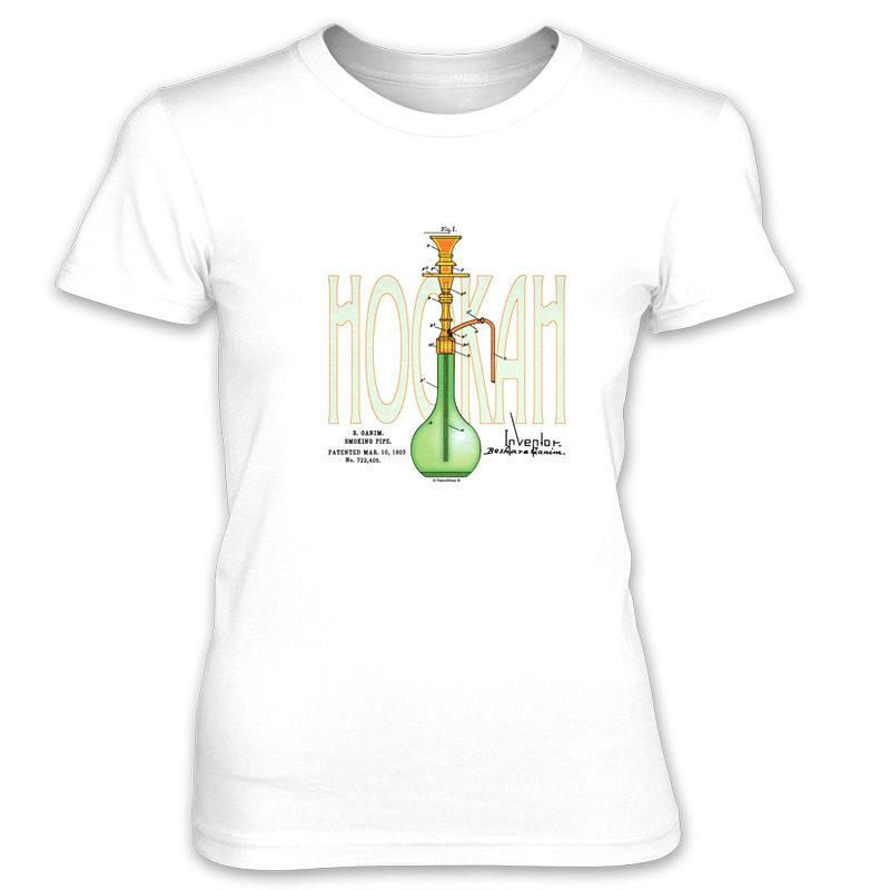 Hookah Women's T-Shirt WHITE