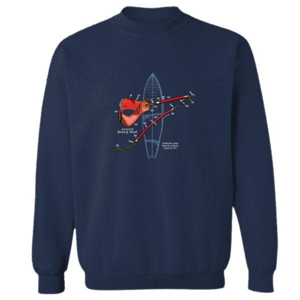 Leash Crewneck Sweatshirt NAVY